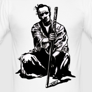 Samurai-JO - Männer Slim Fit T-Shirt