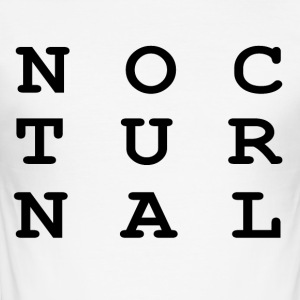 Nocturnal.. - Men's Slim Fit T-Shirt