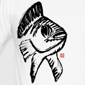 Koi Lucky Charm - Herre Slim Fit T-Shirt
