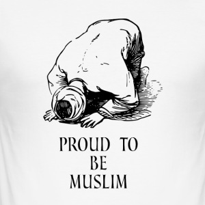 STOLT MUSLIM - Slim Fit T-skjorte for menn