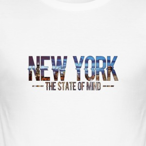 New York - The state of Mind 2 - Men's Slim Fit T-Shirt