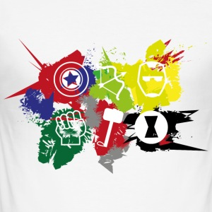 Superhero Team - Men's Slim Fit T-Shirt