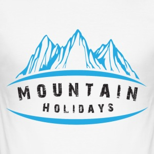 Mountain Holidays - Slim Fit T-shirt herr