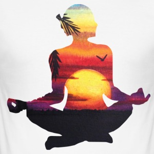 Yoga is mijn Leven - slim fit T-shirt