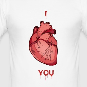 I Heart You - Men's Slim Fit T-Shirt