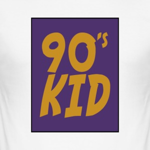 90s kid - Männer Slim Fit T-Shirt