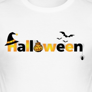 halloween - Slim Fit T-shirt herr