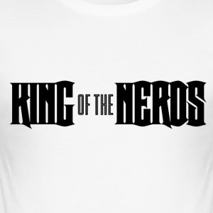 Nerd / Nerds: King of the Nerds - Tee shirt près du corps Homme