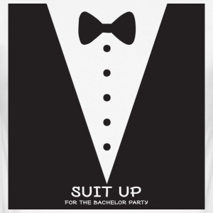 JGA / utdrikningslag: Suit Up for - Slim Fit T-skjorte for menn