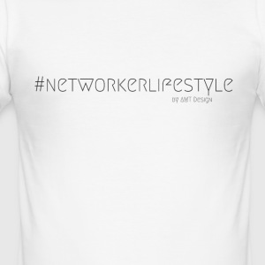 NETWORKER LIFESTYLE - Hustle mode par Design Office - Tee shirt près du corps Homme
