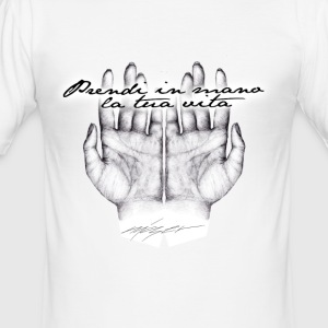 Get your life in hand - Men's Slim Fit T-Shirt