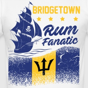 T-Shirt Rum Fanatic - Bridgetown - Barbados - Männer Slim Fit T-Shirt