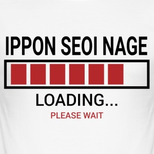 Loading ... seoi Nage Ippon - Männer Slim Fit T-Shirt