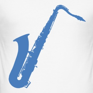 Saxophone - Men's Slim Fit T-Shirt
