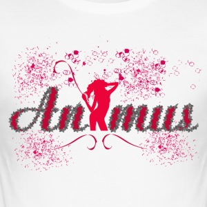Animus - Männer Slim Fit T-Shirt