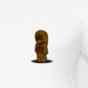 Chewbacca siden fiction - Slim Fit T-skjorte for menn