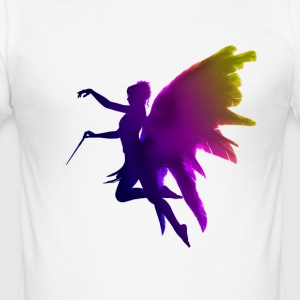 fairy princess magic fairy wings angel desire - Men's Slim Fit T-Shirt