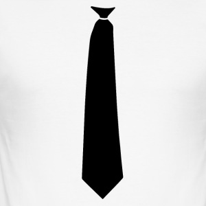 tie overhemd - slim fit T-shirt