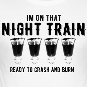night Train - Herre Slim Fit T-Shirt