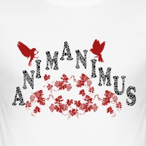 anima-animus - Slim Fit T-skjorte for menn