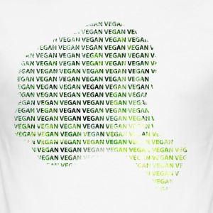 vegan - Männer Slim Fit T-Shirt