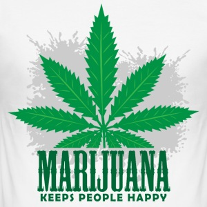 Marijuana - Men's Slim Fit T-Shirt