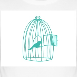 Caged Bird - Men's Slim Fit T-Shirt