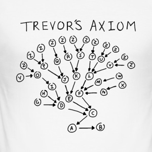 Trevors Axiom - Slim Fit T-shirt herr