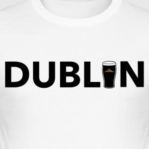 DublIn - Slim Fit T-shirt herr