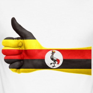 uganda collection - Männer Slim Fit T-Shirt