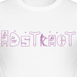 Abstract_finished - Männer Slim Fit T-Shirt