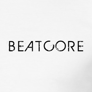 Beatcore Shirt White - Männer Slim Fit T-Shirt