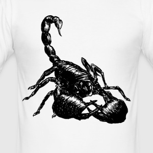 Nether Scorpion - Men's Slim Fit T-Shirt