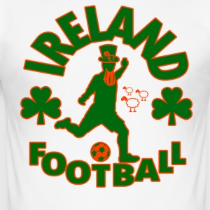 Irlande Football - Tee shirt près du corps Homme