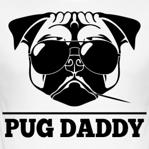 PUG Daddy Tshirt - Herre Slim Fit T-Shirt