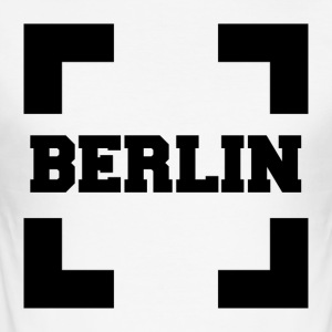 Berlin in Case - Men's Slim Fit T-Shirt