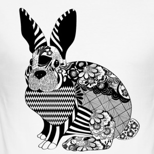 Carlos the Rabbit - Männer Slim Fit T-Shirt