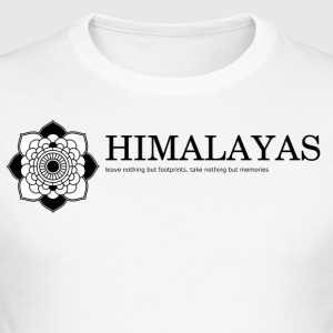 Himalaya - Slim Fit T-skjorte for menn