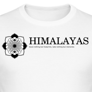 Himalaya - Männer Slim Fit T-Shirt