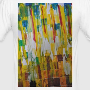 color landscape - Men's Slim Fit T-Shirt