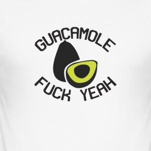 AVOCADO FCK YEAH - Slim Fit T-shirt herr