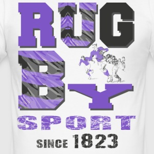 RUGBY SINCE 1823 - Men's Slim Fit T-Shirt