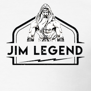 jim Legend - Slim Fit T-shirt herr