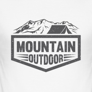 Mountain Outdoor - Slim Fit T-shirt herr