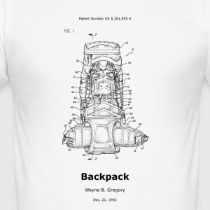 Backpack - Men's Slim Fit T-Shirt