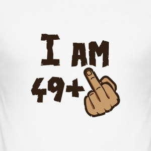 i AM 49 + X - Slim Fit T-shirt herr