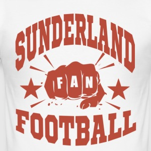 Sunderland Football Fan - Slim Fit T-shirt herr