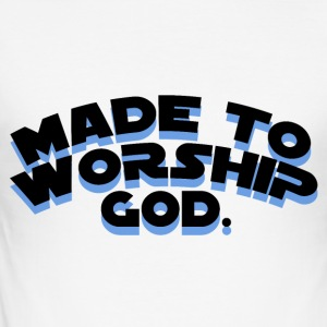 Made To Worship - Men's Slim Fit T-Shirt