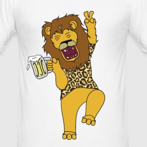 Drunk kung - Slim Fit T-shirt herr