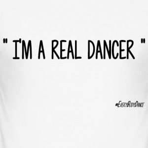 I'M A REAL DANCER - Tee shirt près du corps Homme